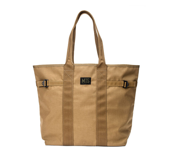 Multi Tote Bag - Coyote Brown - Front