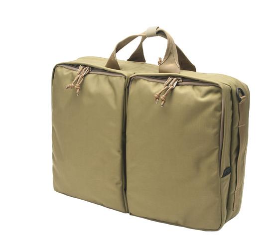 3 Way Brief Bag - Coyote Tan - Front