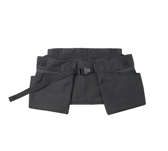 Game Apron Bag - Black - Front