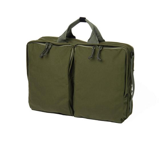 3 Way Brief Bag - Olive - Front