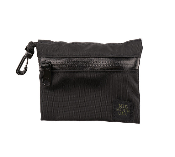 Tactical Key Strap Set - Black - W Small Pouch 1