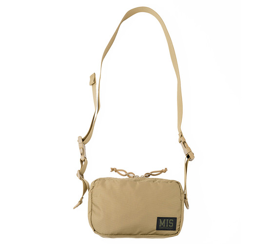 All Shoulder Bag Small - Coyote Tan - Front with Strap