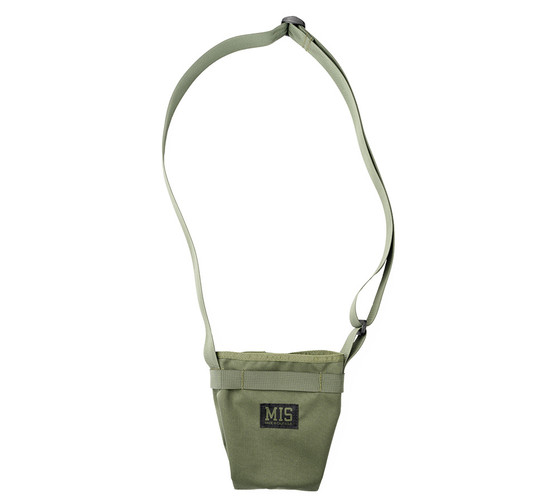 AB Shoulder Pouch - Camo Green 1