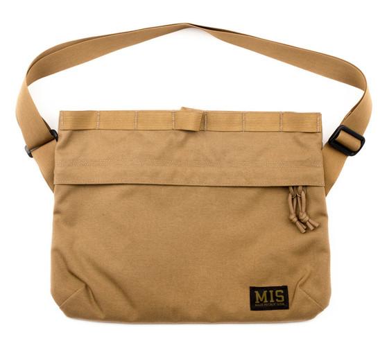 Padded Shoulder Bag - Coyote Brown