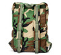 Backpack - Woodland Camo - Back