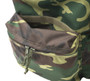 Daypack - Woodland Camo - Hidden Pocket