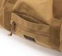 Training Drum Bag Medium - Coyote Brown - Front  Pocket