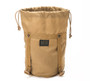 Compression Stuff Sack Small - Coyote Brown - Front Open