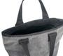 Mini Tote Bag - Denim Grey - Inside