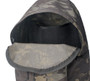 Daypack - Black Multi Cam Cordura - Inside