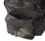 Daypack - Black Multi Cam - Hidden Pocket