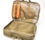 3 Way Brief Bag - Coyote Tan - Inside