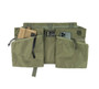 Game Apron Bag - Olive Drab - Front with Accessaries