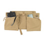 Game Apron Bag - Coyote Tan - Front with Accessaries