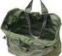 Multi Pocket Tote Bag - Olive Drab - Top