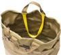 Multi Pocket Tote Bag - Coyote Tan - Top