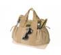 Multi Pocket Tote Bag - Coyote Tan - Front 3