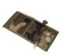 Folding Wallet - Woodland Camo - Outside