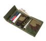 Folding Wallet - Woodland Camo - Inside