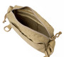 All Shoulder Bag Small - Coyote Tan - Inside