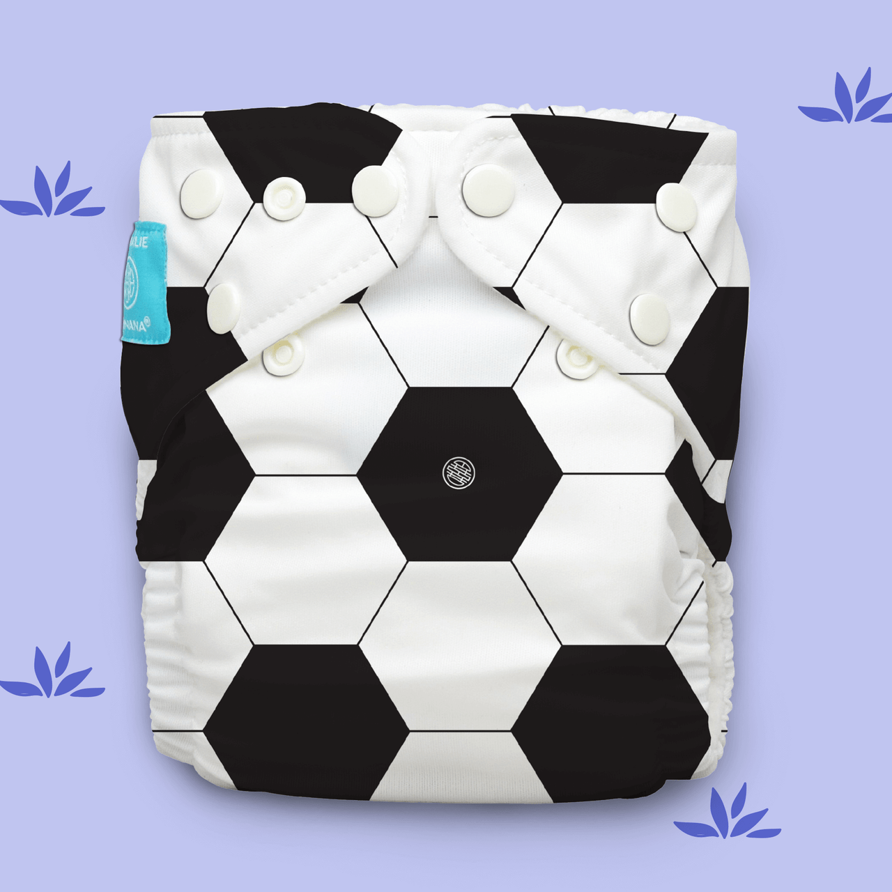 Free Size Cloth Diaper - Soccer