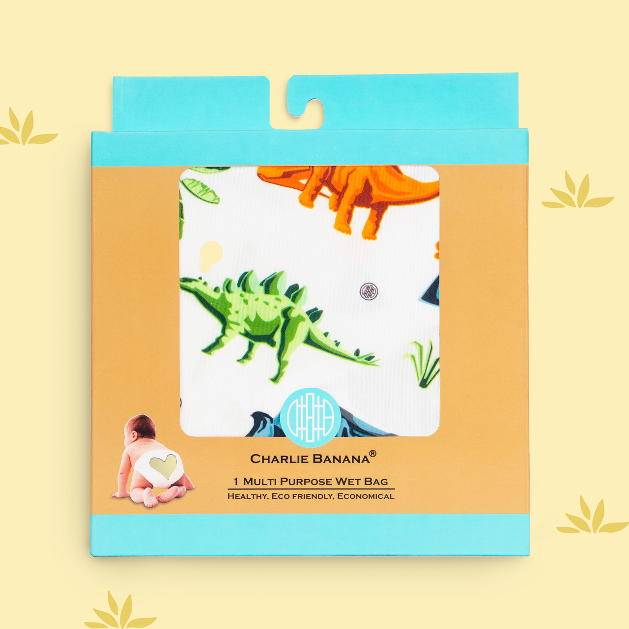 On-the-go Tote Bag - Dinosaurs
