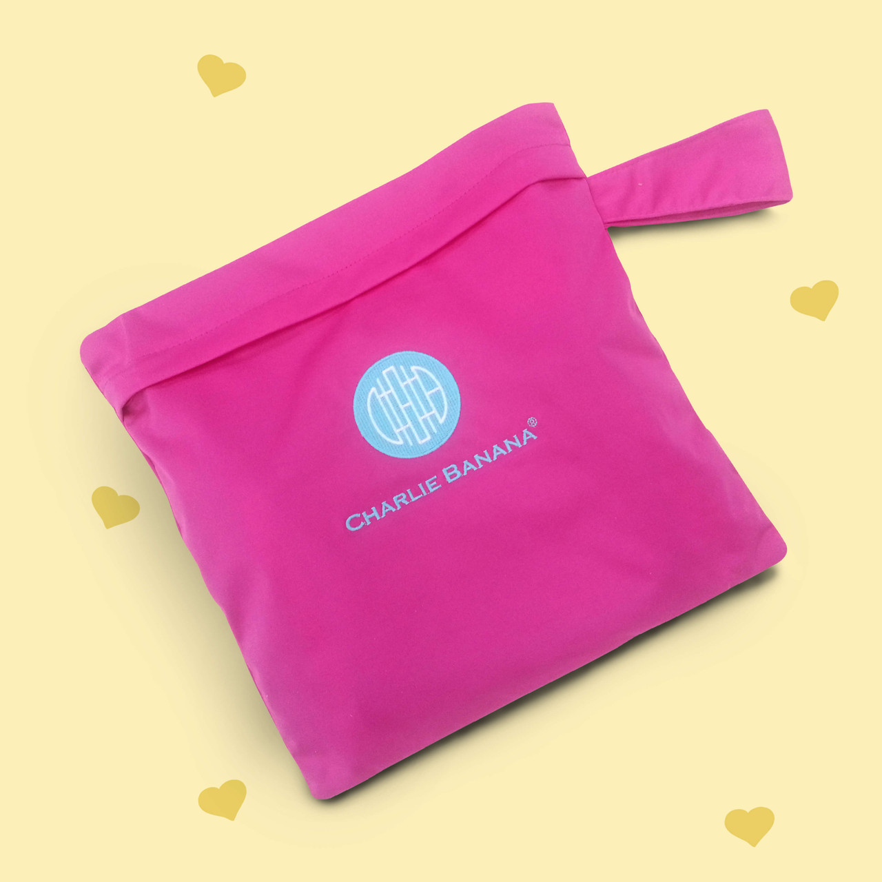 On-the-go Tote Bag - Hot Pink