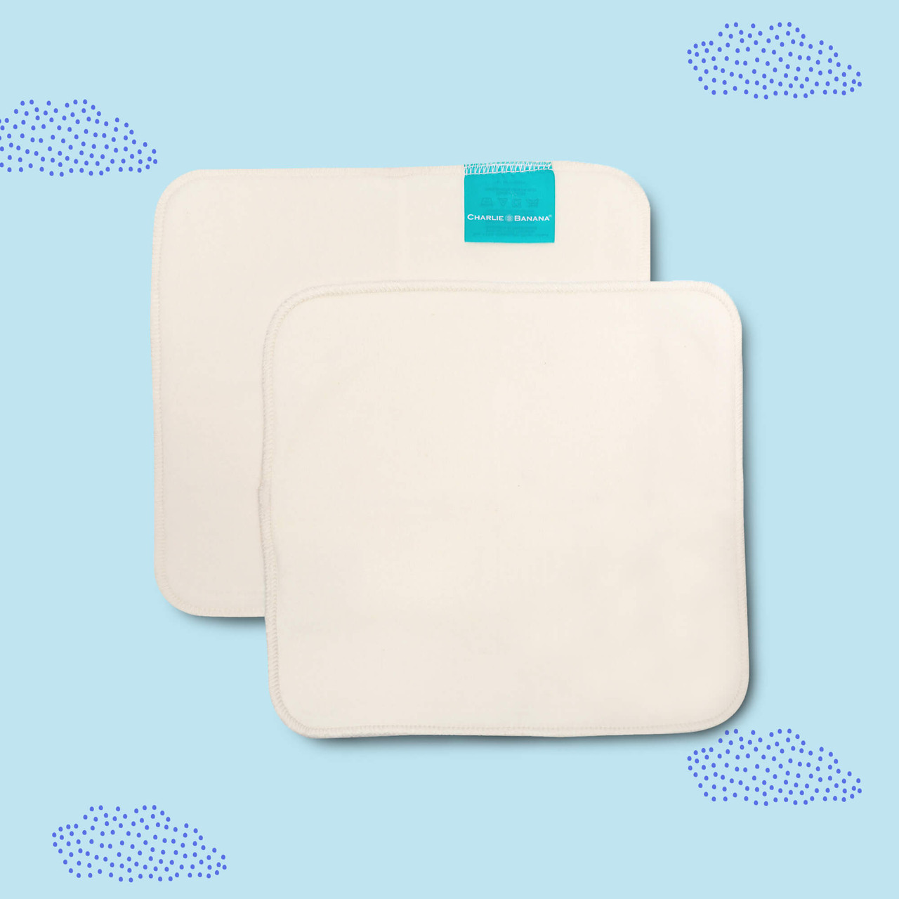 Reusable Organic Cotton Wipes