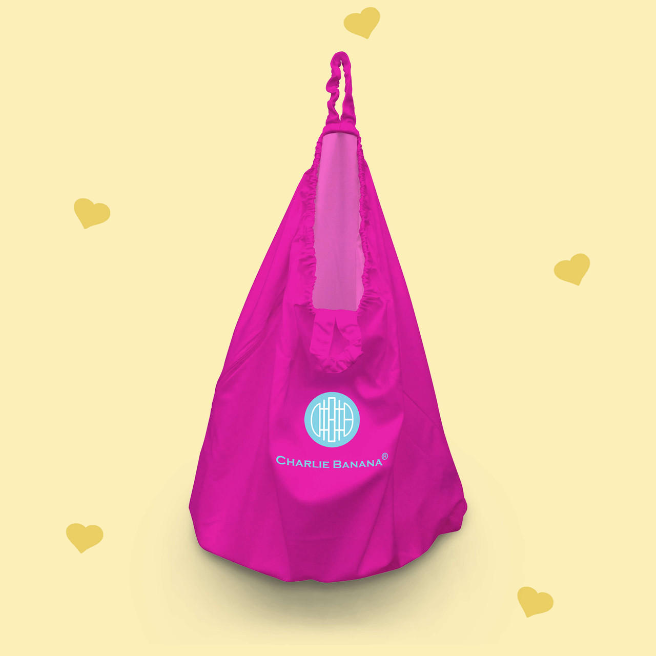 Diaper Laundry Bag - Hot Pink