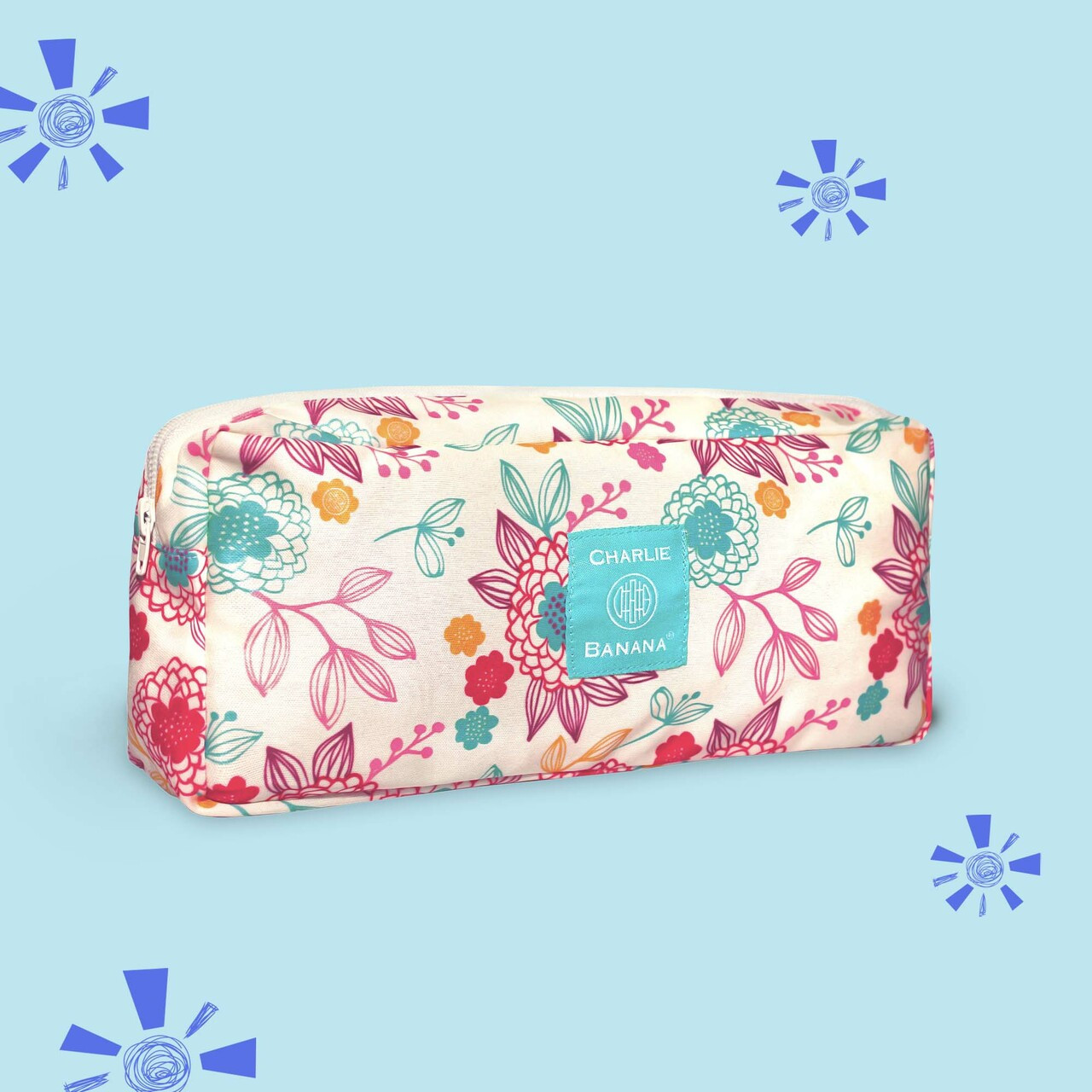 On-the-go Pouch | Peony Blossom