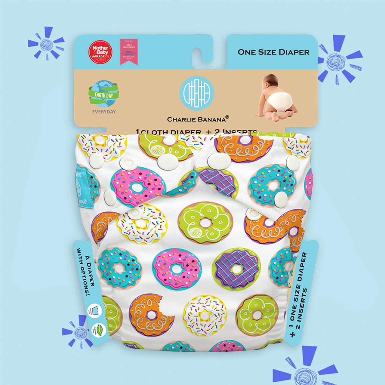 Free Size Cloth Diaper | Delicious Donuts