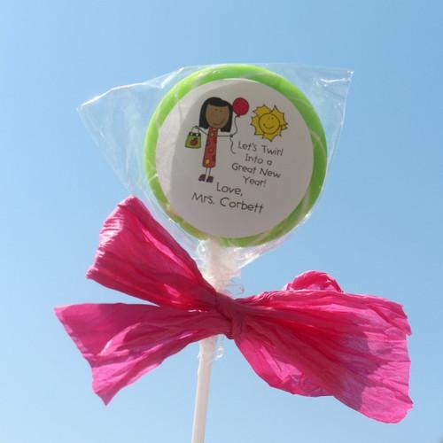 Lollipops Teacher Birthday Female