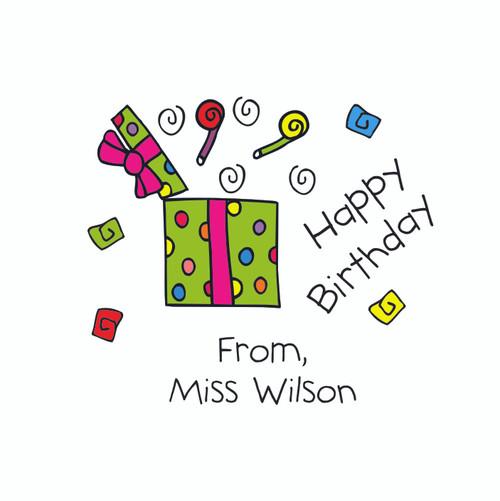 Lollipops Birthday Gift