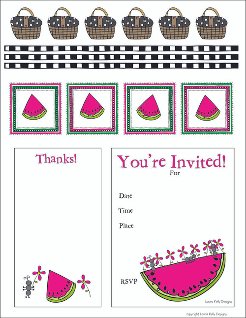 Watermelon Party Printable