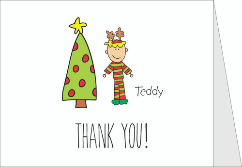 Me and My Peeps Individual Character Holiday Thank You Note Cards _ Qty 50