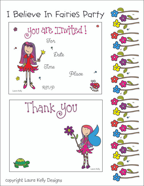 Printable Party - Fairy Party