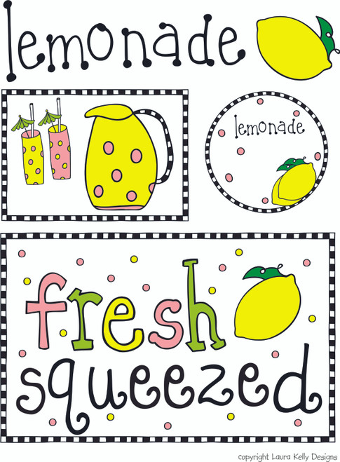 Printable Party - Lemonade Stand
