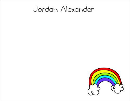 Small Flat Notes - Rainbow