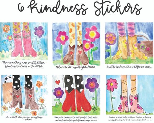 Kindness Stickers - Set of 6