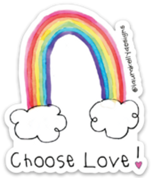 Vinyl Sticker - Choose Love