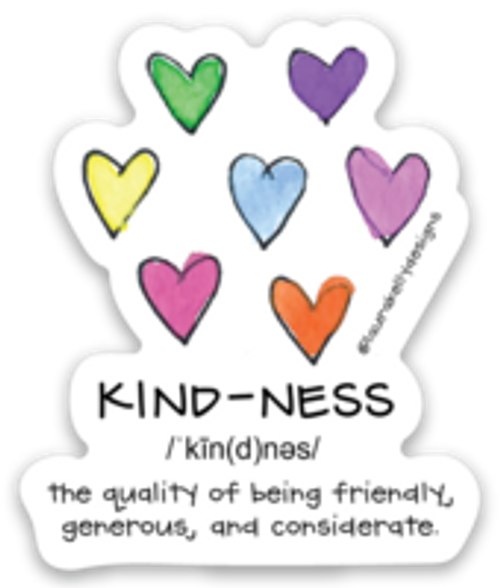 Vinyl Sticker - Kindness Definition