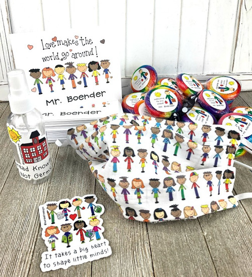Back to School Teacher Kindness Pack with Lollipops
