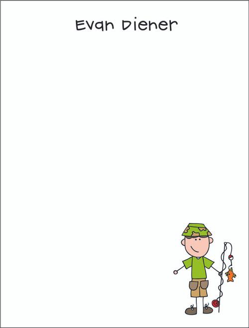 Small Flat Notes - Single Character