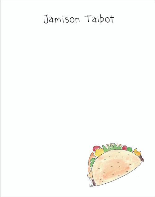 Memo Pad Set - Taco