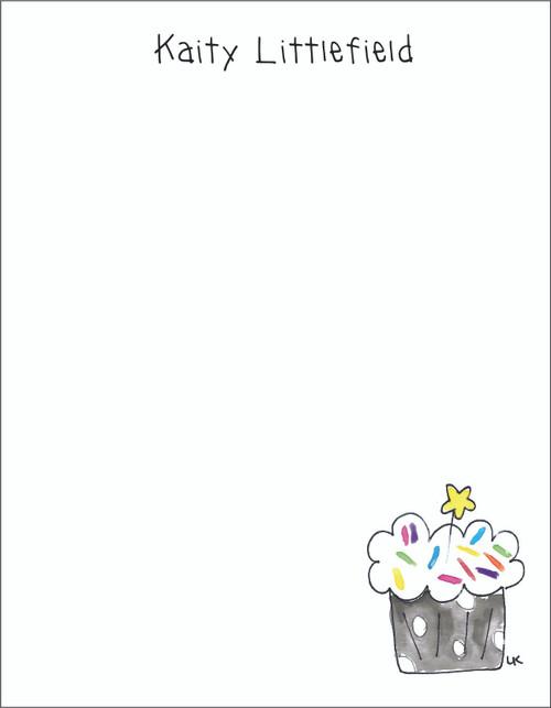 Memo Pad Set - Cupcake
