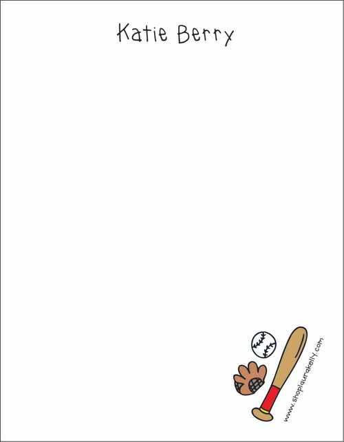 Memo Pad Set - Baseball