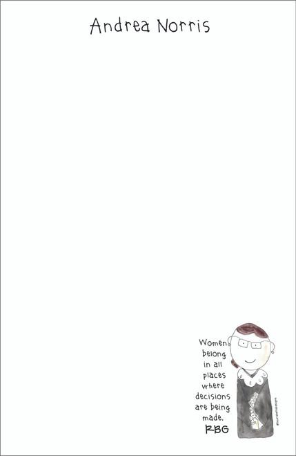 Memo Pad Set - Ruth Bader Ginsburg