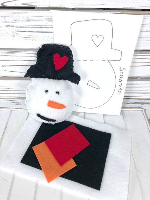 Christmas Feltie Kit - Snowman