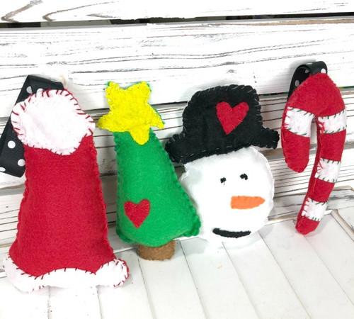 Christmas Feltie Kit Bundle
