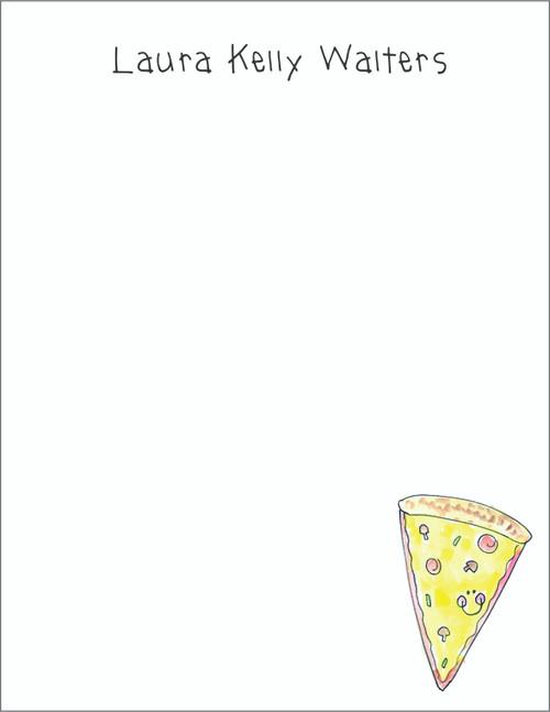 Memo Pad Set - Pizza